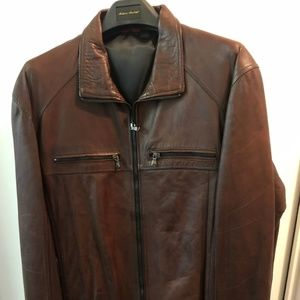 Other - Fine imported Italian leather jacket